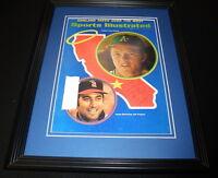 Jim Fregosi Signed Framed 1971 Sports Illustrated Magazine Cover Angels
