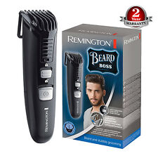 New Remington MB4120 Beard Boss Battery Operated Beard Trimmer, Washable Blade