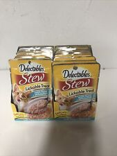 New listing Hartz Delectables Stew Lickable Cat -Treats Tuna & Whitefish , Pack Of 22Pouches