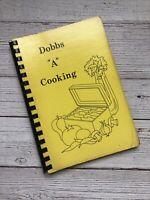 Vintage Dobbs House Restaurant Employee Cookbook 1985 1980's Housewife Recipes