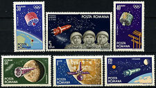 Romania 1965 SG#3237-42 Space Navigation MNH Set #D34924
