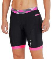 2XU Active 7 Inch Womens Tri Shorts - Black