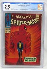 Marvel Comics Amazing Spider-Man 50 CGC 2.5 O/WP 1st Kingpin Lee Romita 1967