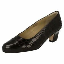Suede Wide (E) Court Formal Heels for Women