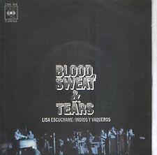 """BLOOD, SWEAT & TEARS 7""""PS Spain 1972 Lisa, listen to me"""