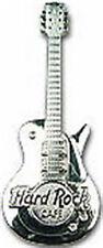 Hard Rock Cafe ONLINE 2003 1st 3-D Silver LES PAUL GUITAR PIN HRC Catalog #20762
