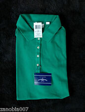 Outer Banks Womens Emerald Green Short Sleeve Polo Shirt Size Large