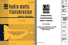 General Motors 1957 - GM Hydra-Matic Transmission Parts Catalog, Bulletin 37A-10
