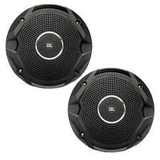 "JBL MS6510BK Boat Marine Audio Black 6"" Inch Dual Cone Stereo Speakers Peak 150W"