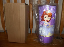 SOFIA THE FIRST LAMP (NEW) ROUND CYLINDER PURPLE ELECTRICAL