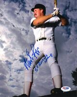 WADE BOGGS SIGNED AUTOGRAPHED 8x10 PHOTO + 5 x BATTING CHAMP RED SOX PSA/DNA