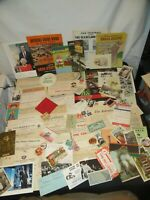 Old Paper Ephemera Advertising Tobacco Railroad Postcards Receipts & More Y823