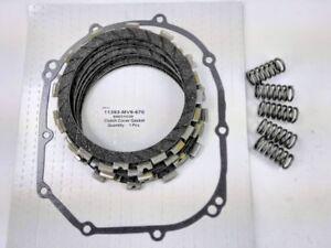 Clutch Repair Kit, EBC & clutch gasket, springs for Honda CBR 600 F, 1991- 1998