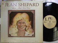 Country Lp Jean Shepard Mercy, Ain'T Love Good On Ua