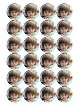 24 PERSONALISED ANY PHOTO EDIBLE WAFER PAPER CUPCAKE CUP CAKE IMAGES TOPPERS