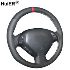 For Infiniti G25 G35 G37 QX50 EX25 EX35 Hand Sewing Car Steering Wheel Cover