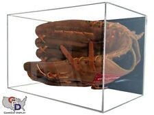 UV Protecting Acrylic Wall Mount Baseball Glove Display Case GameDay Display