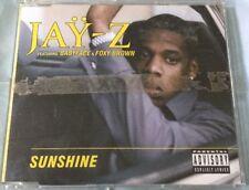 Maxi-CD Jay-Z featuring Babyface & Foxy Brown - Sunshine (1997) Guter Zustand