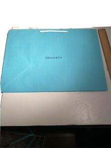 """TIFFANY & CO. Empty Bag Only gift Storage gag 15 x 11"""" rope handle lot available"""