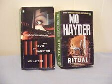Lot of 2 MO HAYDER - CRIME - Suspense Thrillers - pbs FREE SHIP