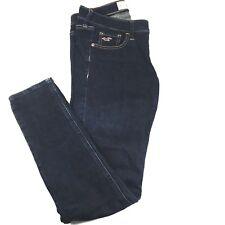 HOLISTER WOMEN's Skinny Jeans size 26x29 Dark Blue denim jeggings stretch -EUC 9