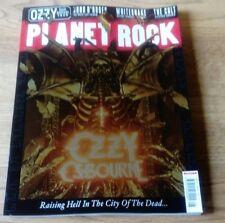 PLANET ROCK issue 8 OZZY OSBOURNE GUNS 'N' ROSES WHITESNAKE THE CULT