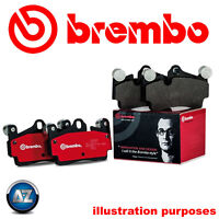 BREMBO GENUINE ORIGINAL BRAKE PADS REAR AXLE P85020