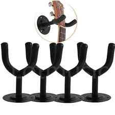 Kmise Guitar Hook Hanger Holder Wall Mount Stand for Electric Guitar Parts Black