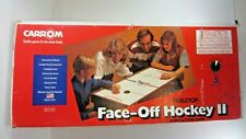 Vintage Carrom FACE OFF Fast Action Wooden Air Hockey Table w/Pucks Works