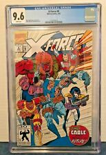 X-FORCE 8 CGC 9.6 WP 1ST APPEARANCE (CAMEO) DOMINO WILDPACK