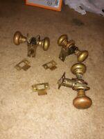 rare vintage chesler door knobs