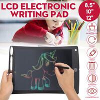 LCD Electronic Writing Memo Pad Digital Graphic Drawing Board 8.5''/10''/12''
