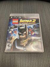 LEGO Batman 2: DC Super Heroes (Sony PlayStation 3, 2012) WITH CASE