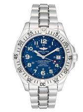 Breitling Armbanduhren mit Silber-Armband für Herren