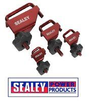 Sealey Brake Pipe Hose Pinch Clamp Tool Set 4pc VS0301
