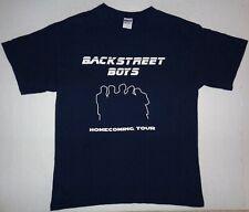 BACKSTREET BOYS Homecoming Tour Size Large Blue T-Shirt