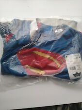 Superman Shirt/Cape Justice League DC Superhero  boys Halloween Child  Costume