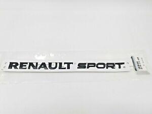 Logo Emblema Renault Megane Sport RS IV Clio 4 GT Insignia Negro Original