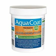 Fast Drying Wood Grain Filler for Durable Finish w/ Excellent Resistance - 16oz