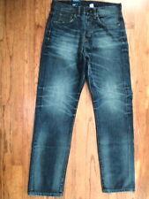 "NWT H&M ""Divided"" Jeans, Dark Wash Denim Sz 29 x 32 Tapered Leg (S-M-1072)"