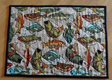4 Piece Fish Themed Place Mats