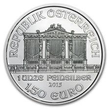 AUTRICHE 1,5 Euro Argent 1 Once Philarmoniker 2015 -