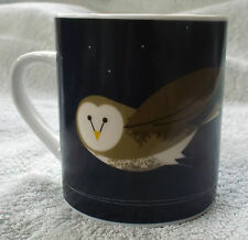 Pretty Barn Owl design Mug with matching gift box.