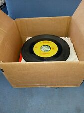 Box Of Children 45 Record Lot golden Records