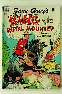 Four Color #265 Zane Grey's King of the Royal Mounted (1950; Dell) - Very Fine