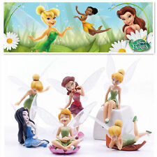 6 TINKERBELL FAIRIES SECRET OF THE WING ACTION FIGURES CAKE TOPPER DECOR KID TOY