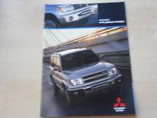 52551) Mitsubishi Pajero Pinin Prospekt 02/2002