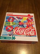 2012 Coca Cola POP ART - 1000 pc. Buffalo Games Puzzle  ** Complete**