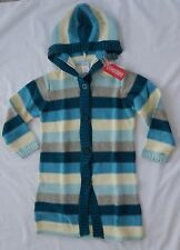 Gymboree My Best Friend girls NEW size 5 long striped duster sweater