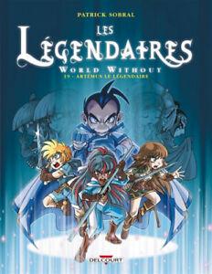 BD - LES LEGENDAIRES W.W, TOME 19 > ARTEMUS LE LEGENDAIRE / SOBRAL, DELCOURT